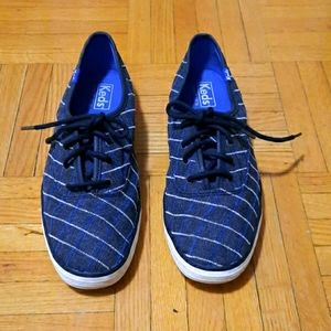 Keds navy blue and grey sneakers